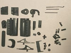 Image of DB601 engine with engine bearers