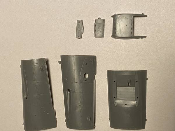 Bf 109G-2 cowling, complete